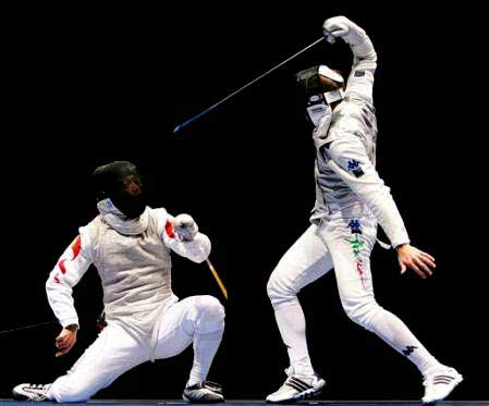 Image of Two Fencers